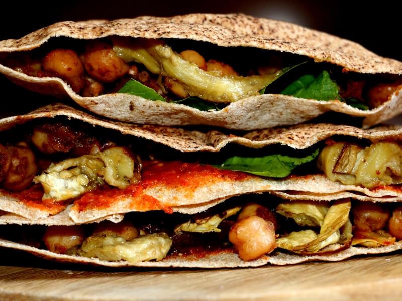 Stuffed arabic bread