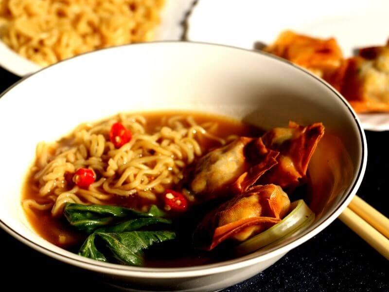 fried wonton soup