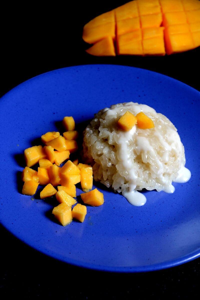 Thai Mango Sticky Rice   Sweet Treats   Greenbowl2soul